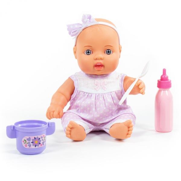 Lutka beba Lovely Baby 24cm sa kompletom za hranjenje 078285 - ODDO igračke