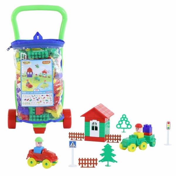 Kocke u kolicima 160pcs Polesie 054470 - ODDO igračke