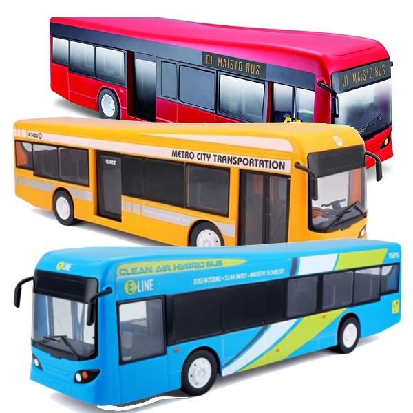 Autobus R/C Maisto City Bus - 27Mhz 81481 - ODDO igračke