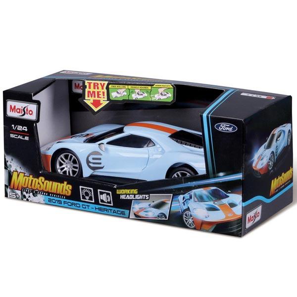 Automobil Maisto 1:24 MotoSounds Ford GT 81238 - ODDO igračke