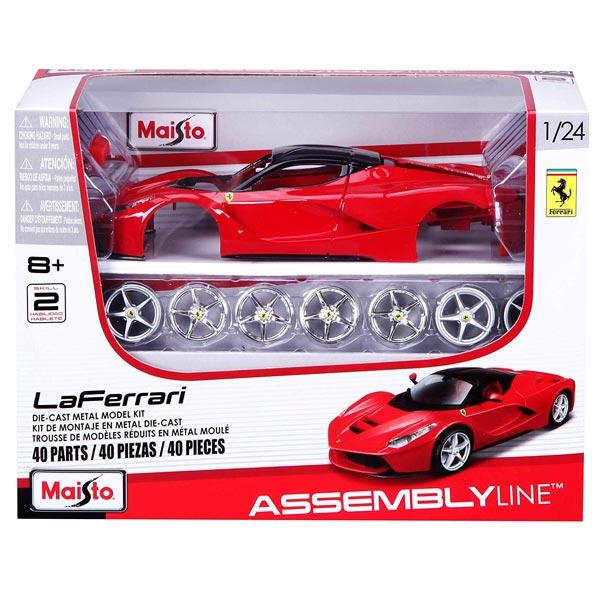 Metalni model autića na sastavljanje 1:24 Ferrari LaFerrari Maisto 39129 - ODDO igračke