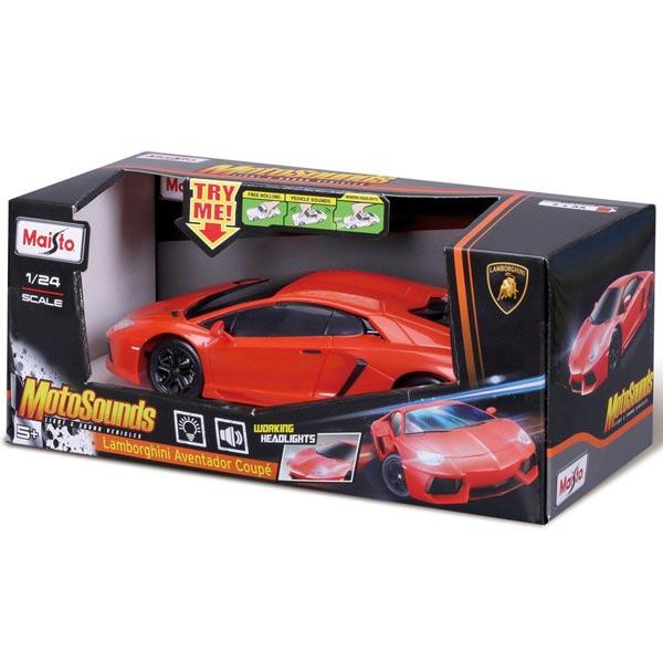 Automobil Maisto 1:24 MotoSounds Lamborghini Aventador 81221 - ODDO igračke