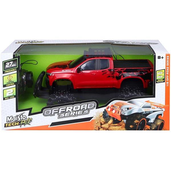 Automobil R/C Maisto 1:16 Chevrolet Silverado 82074 - ODDO igračke