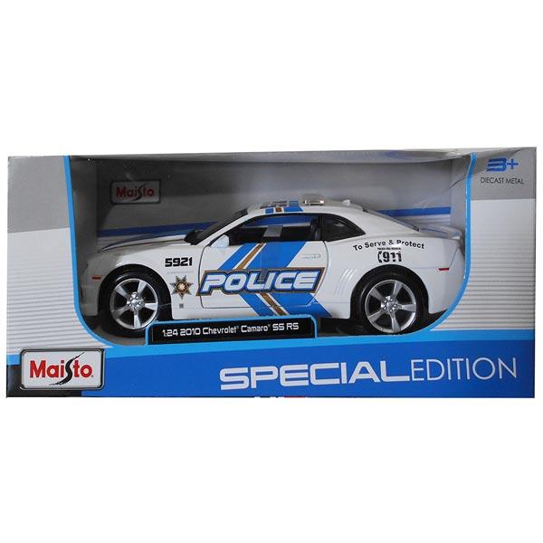 Maisto Metalni model autica 1:24 Chevrolet Camaro RS2010 Police 31208 - ODDO igračke