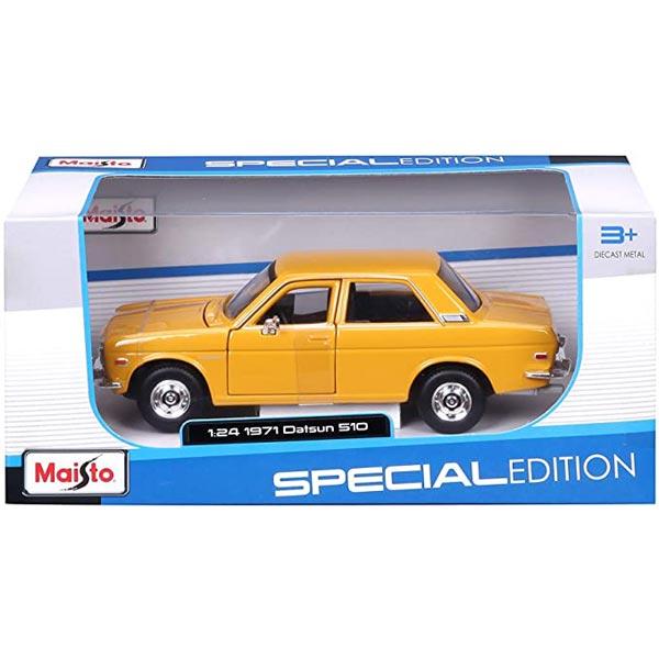 Maisto metalni auto 1:24 Datsun 510 iz 1971.godine 18cm Special Edition 531518 - ODDO igračke