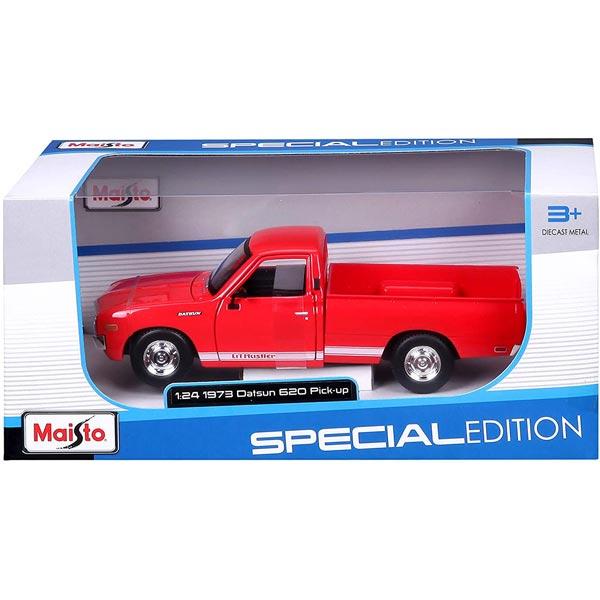 Maisto metalni auto 1:24 Datsun 620 pick-up iz 1973.godine 18cm Special Edition 531522 - ODDO igračke