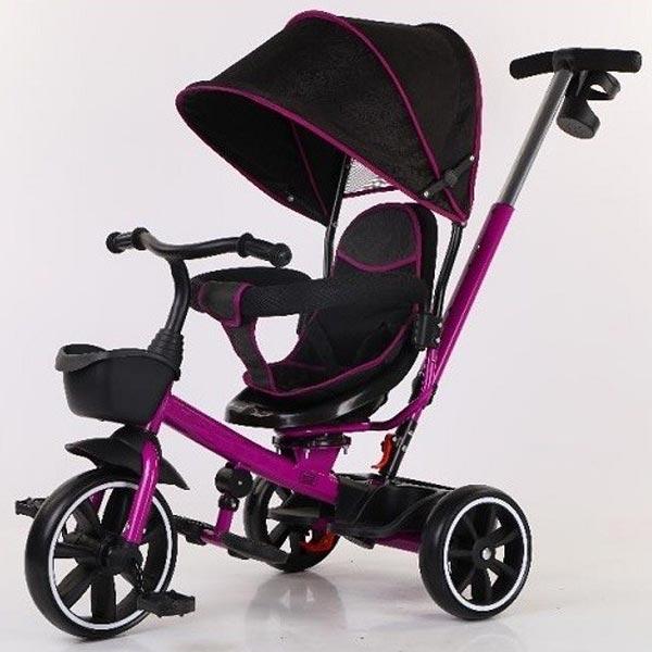 BBO Dečiji Tricikl Dynamic T700 Purple - ODDO igračke
