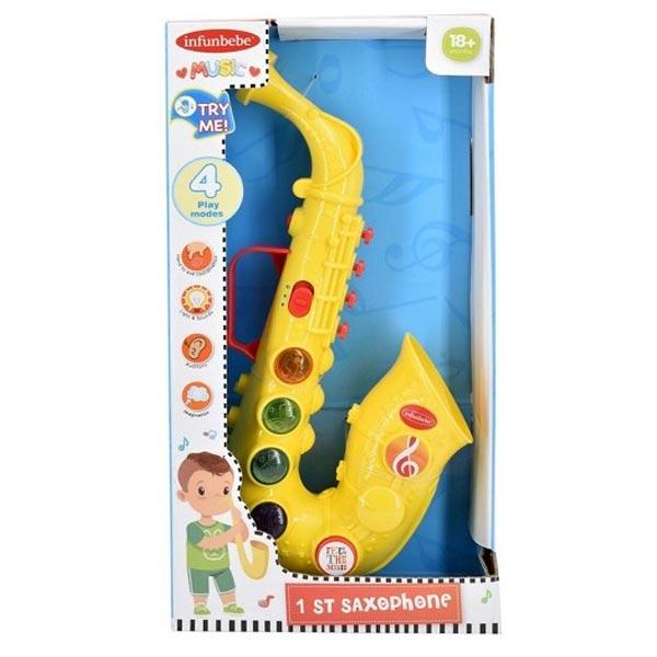 Infunbebe igračka saksofon 18M+ sa zvukom (4 melodije)LML006 - ODDO igračke