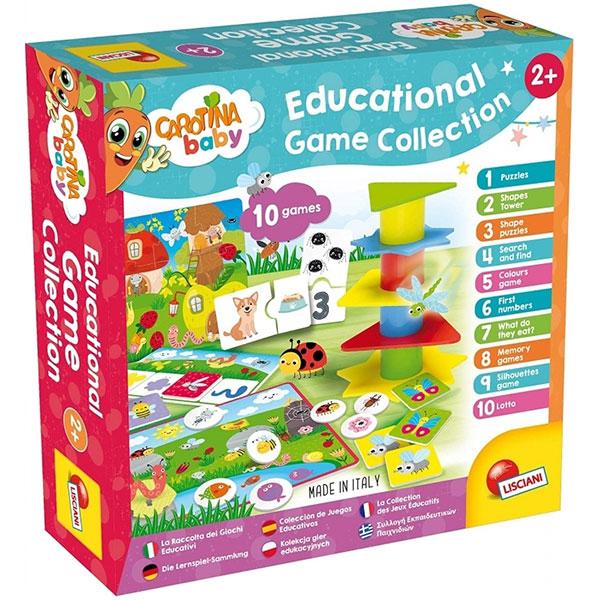 Carotina Edukativna igra 10 Games Lisciani 80243 - ODDO igračke