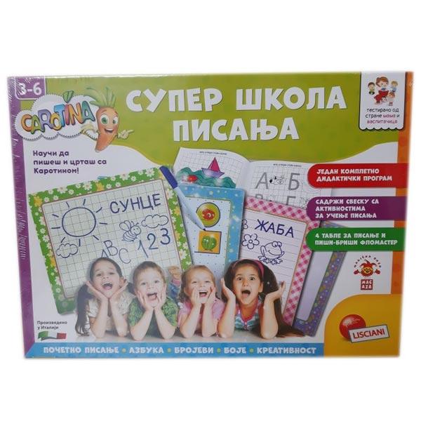 Carotina SR Edukativna igra Super skola pisanja Lisciani RS65455 - ODDO igračke