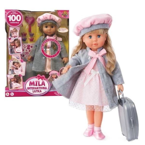 Interaktivna lutka Mila 100 rečenica 54/41064 - ODDO igračke