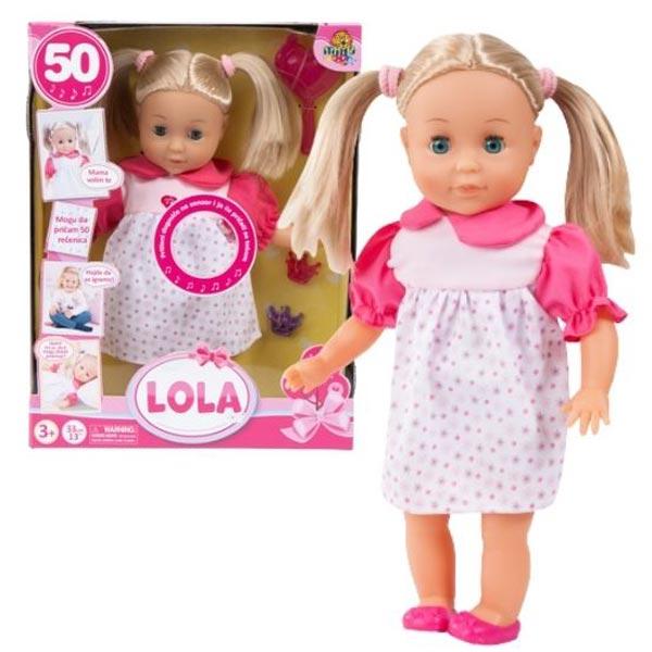 Interaktivna lutka Lola 50 rečenica 54/41279 - ODDO igračke