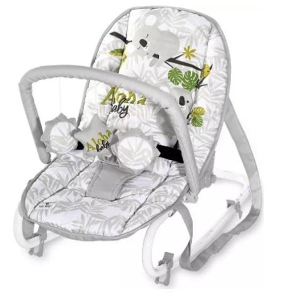 Ljuljaška/ležaljka Eliza Grey Koalas Lorelli 10110142129 - ODDO igračke