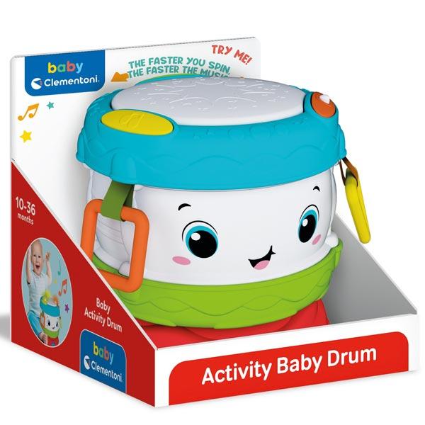 Clementoni Baby Activity Drum CL17409       - ODDO igračke