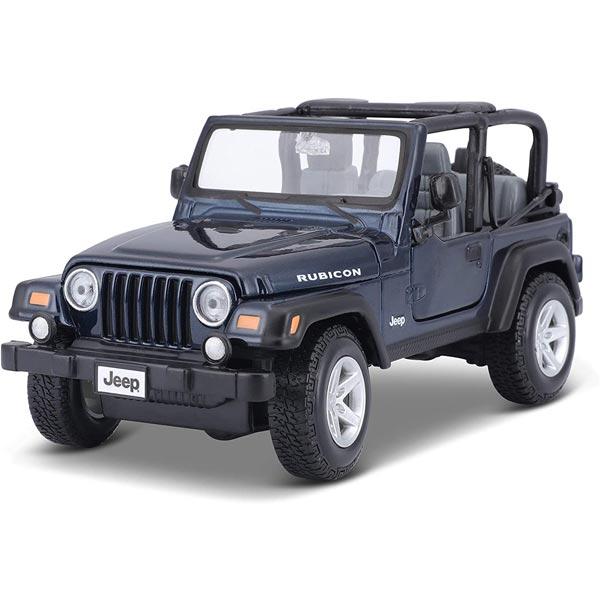 Maisto Metalni model autica 1:24 Jeep Wrangler Rubicon 31245 - ODDO igračke