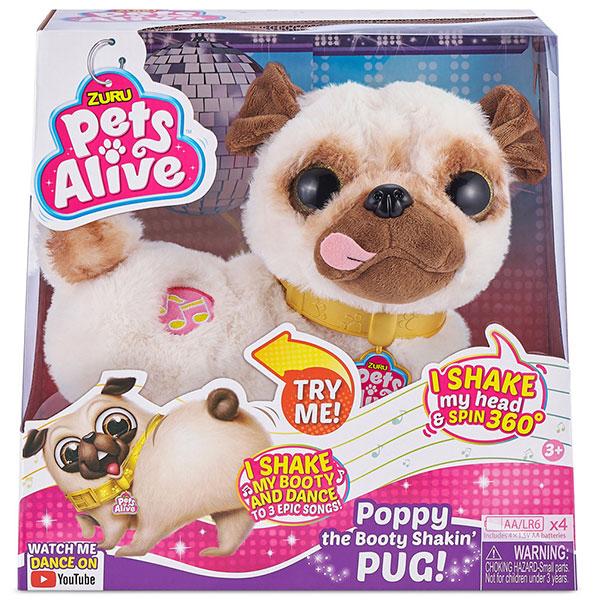 ZURU Pets Alive Mops Poppy interaktivna kuca 9521 - ODDO igračke