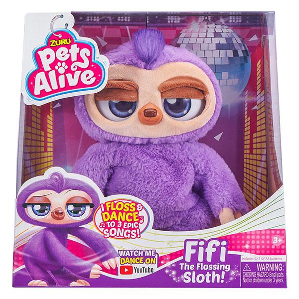 ZURU Pets Alive Fiffy interaktivni lenjivac 9516 - ODDO igračke