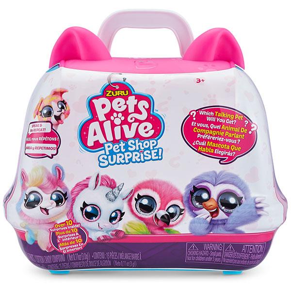 ZURU Pets Alive Kofer iznenađenja 9523 - ODDO igračke