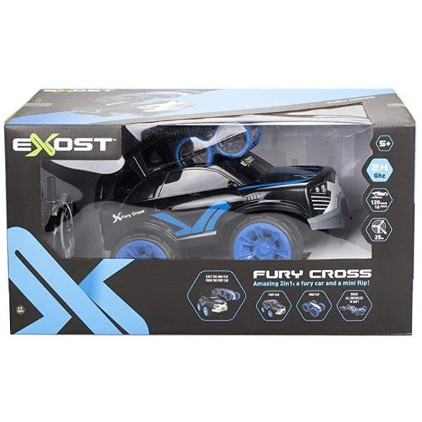 Auto EXOST Fury Cross 2,4Ghz Silverit 20210 - ODDO igračke