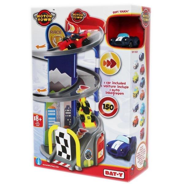 Motor Town Trkačka stanica sa jednim automobilom 38x25x12cm 113445 - ODDO igračke