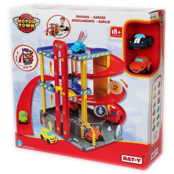 Motor Town Parking garaža sa dva automobila 41x41x13cm 113378 - ODDO igračke