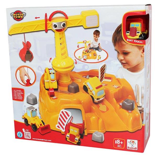 Motor Town Gradjevinski set sa dva vozila 41x41x13cm 113425 - ODDO igračke