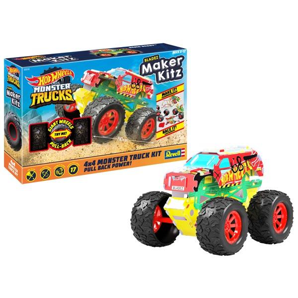 Hot Wheels Revell Maker Kitz 1:32 Demo Derby 50316 - ODDO igračke
