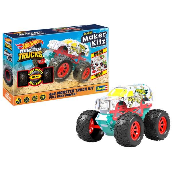 Hot Wheels Revell Maker Kitz 1:32 Monster Trucks Hissy Fit 50318 - ODDO igračke