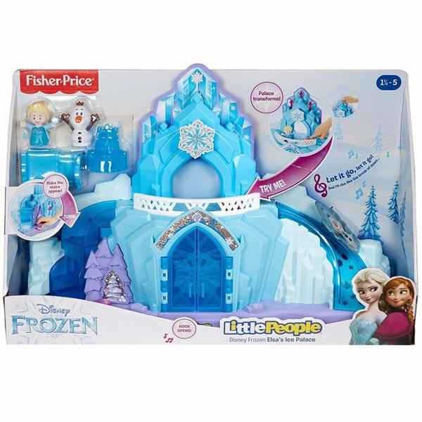 Fisher Price Disney Frozen snežna palata GLM38(nemački jezik) - ODDO igračke