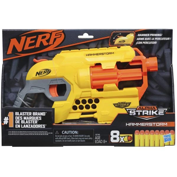 Nerf Alpha Strike Hammerstorm Blaster E6748 - ODDO igračke