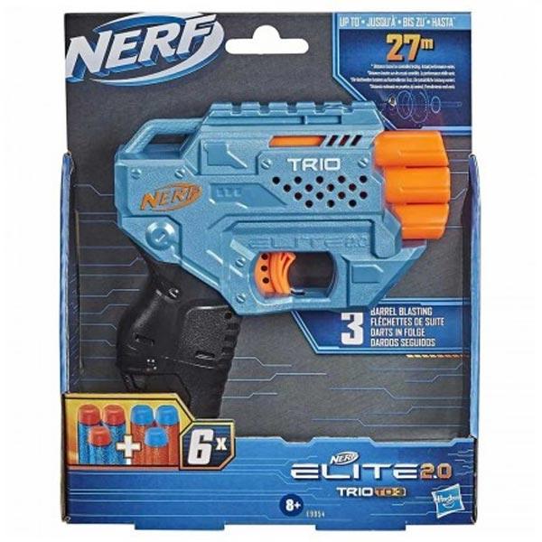 Nerf Elite Trio Blaster E9954 - ODDO igračke