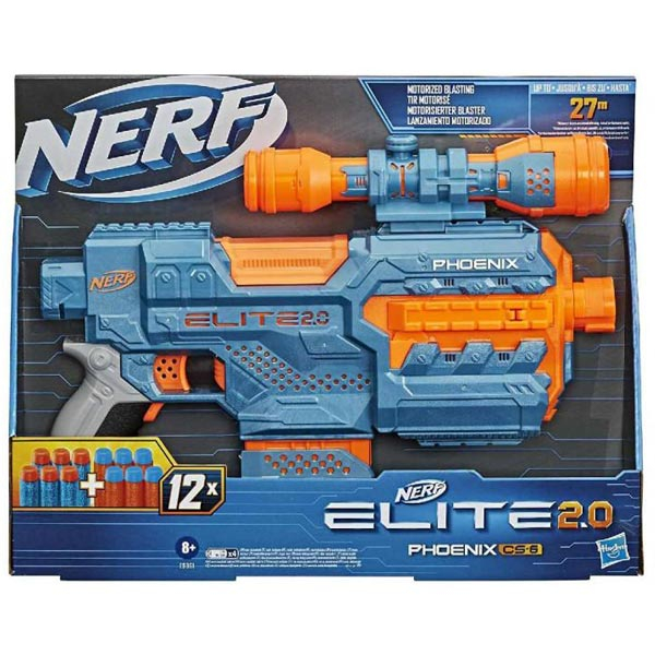 Nerf Elite 2 Phoenix CS 6 E9961 - ODDO igračke
