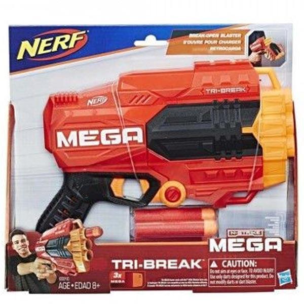 Nerf Mega Tri Break E0103 - ODDO igračke