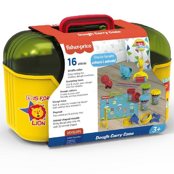 Bildo Fisher Price plastelin set u koferu 8012 - ODDO igračke
