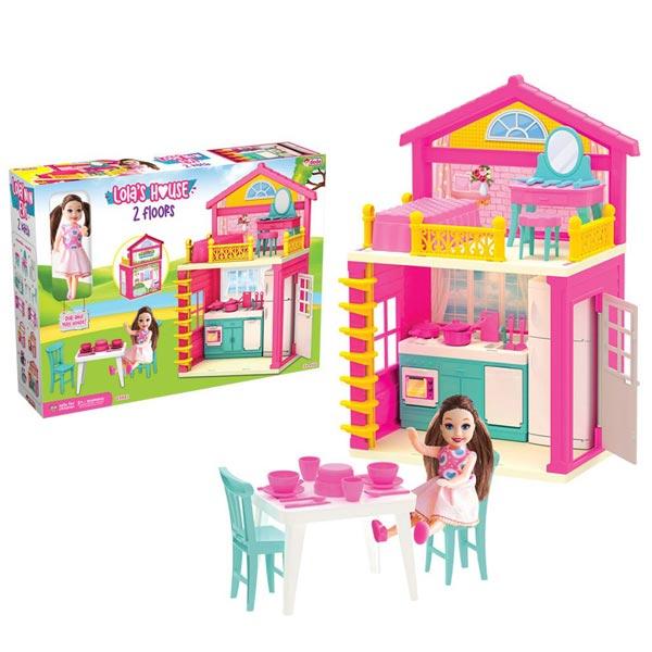 Lolina kućica sa lutkom Dede 036619 - ODDO igračke