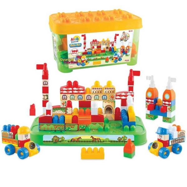 Kocke Zamak set  Dede 033427 - ODDO igračke