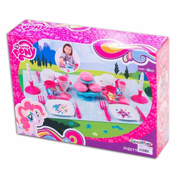 Set za večeru My little Pony Ecoiffier SM001655      - ODDO igračke