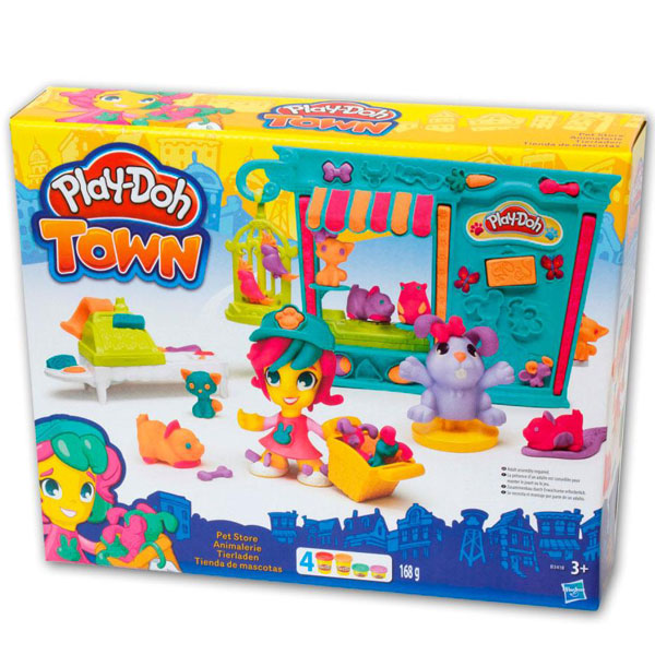 PlayDoh Town set Pet Shop B3418         - ODDO igračke