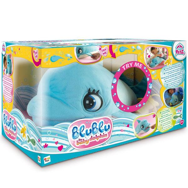 Pliš beba delfin Blu Blu 0125084 - ODDO igračke