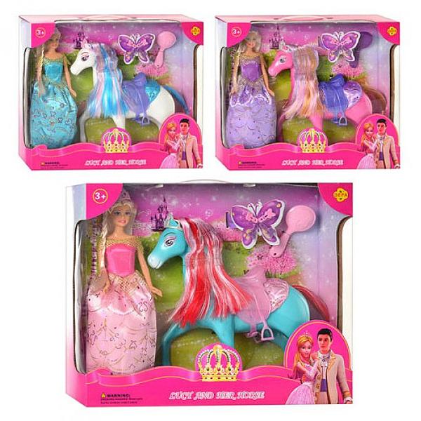 Lutka Defa i Konj 82095 - ODDO igračke