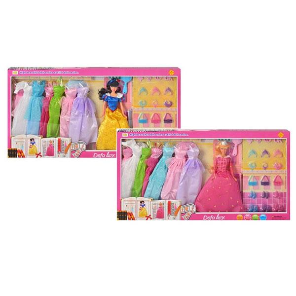 Lutka Defa princeza sa garderobom 8263 - ODDO igračke