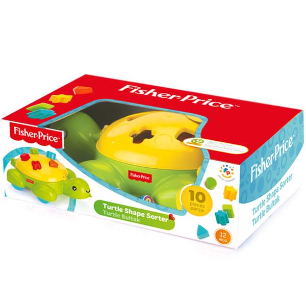 Didaktička kornjača Fisher Price 018045 - ODDO igračke