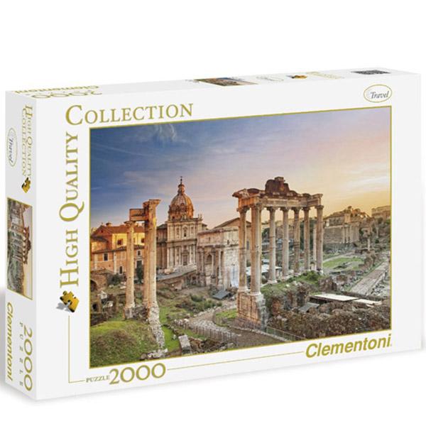 Clementoni Puzzla Forum Romanum 2000 pcs 32549 - ODDO igračke