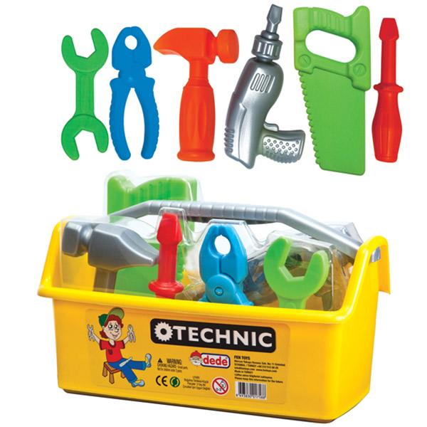 Alat set u kutiji DEDE Technic 017588 - ODDO igračke