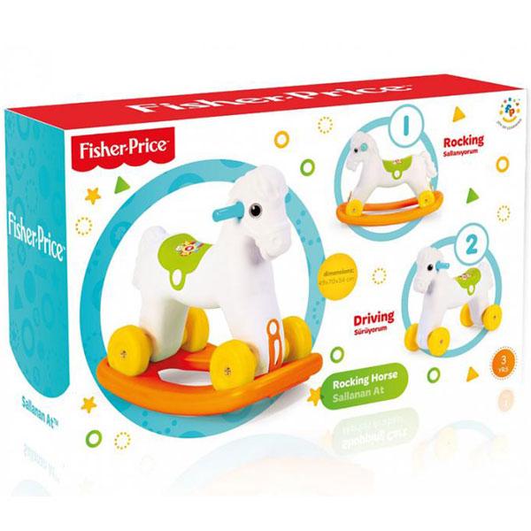 Klackalica Guralica Konjić Fisher Price 018090 - ODDO igračke