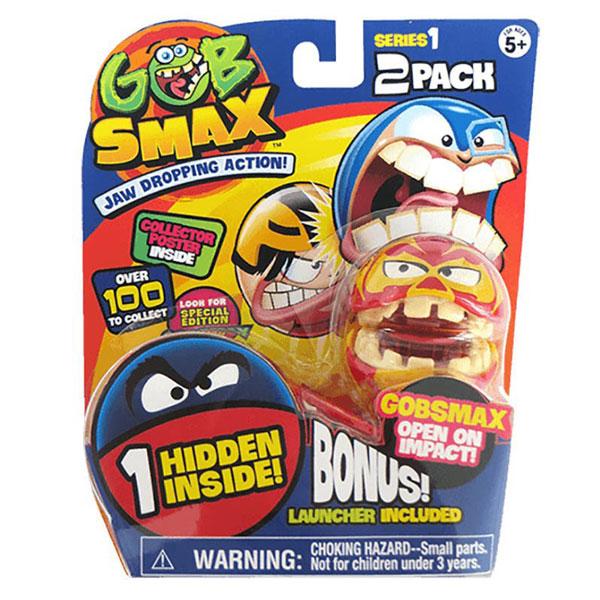 Gobsmax loptice 2pk sa lanserom  4050-03839 - ODDO igračke