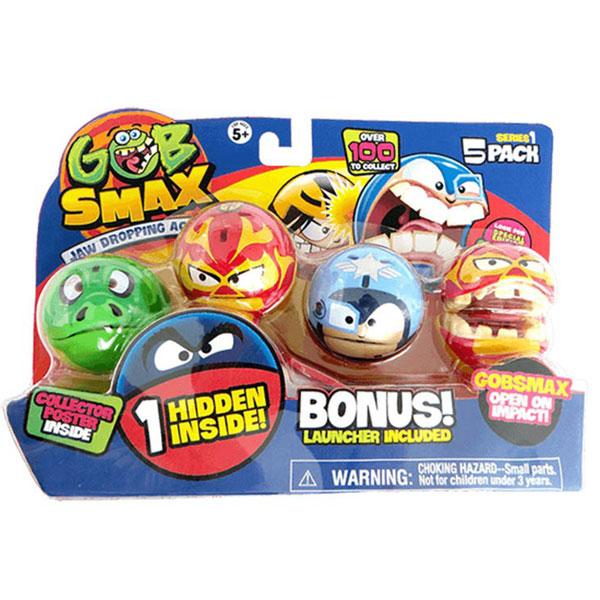 Gobsmax loptice 5pk sa lanserom 4050-03837 - ODDO igračke