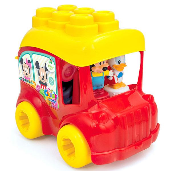 Mekane gumene kocke Clemmy Mickey Autobus CL14792 - ODDO igračke