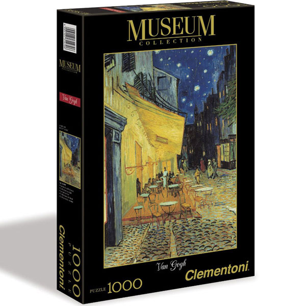Clementoni Puzzla Caffe Terrace at Night, Van Gogh, 1000 pcs 31470 - ODDO igračke