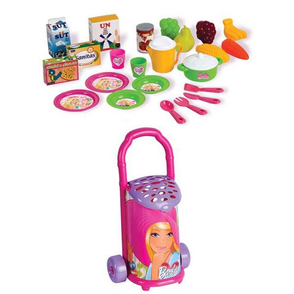 Kolica sa Namirnicama Barbie DEDE 015089 - ODDO igračke